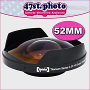 52mm Fisheye
