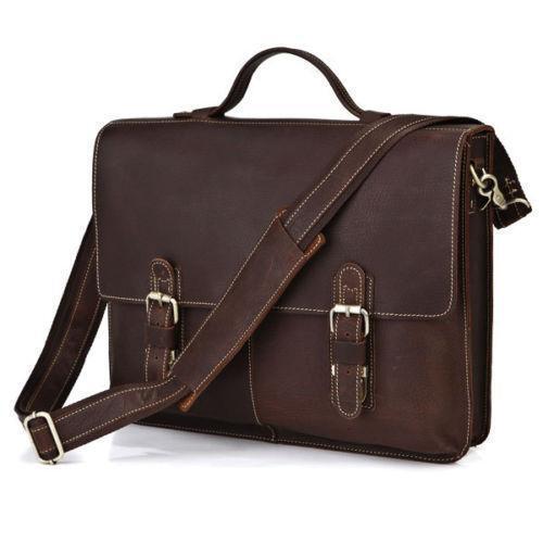 Mens Leather Handbag Ebay