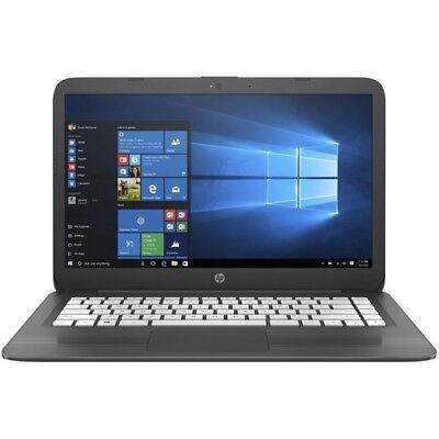 "Laptop Windows - HP Stream 14"" Laptop Intel Celeron N4000 4GB 32GB Windows 10 - Smoke Gray"