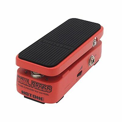 Hotone Soul Press 3 in 1 Wah Pedal- wah, Volume, and Expression modes NEW