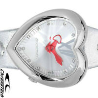 BRAND NEW CHRONOTECH HEART SHAPED WATCHES W/ CRYSTALS