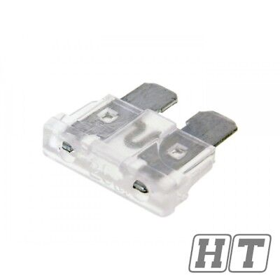 FUSE FLAT FUSE 192MM 25A CLEAR FOR SCOOTER MOTORCYCLE