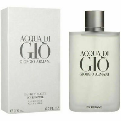 Acqua Di Gio by Giorgio Armani, 6.7 oz EDT Spray for Men new and free shipping