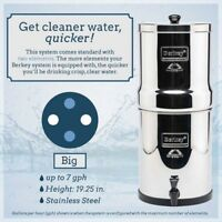Big Berkey Water Filter <> $340 <> Free Delivery