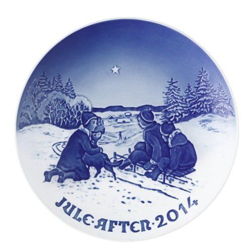 Bing & Grondahl 2014 Annual Christmas Plate – Sledge Ride in the Snow