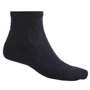SmartWool Hiking Mini Crew Ultra Light Mens Socks BLACK, GRAY, Or LODEN Sz LG XL