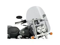 Genuine Harley Davidson Fat Bob Quick Release Compact Windshield £150 (Fits Dyna Fat Bob 08-Later)