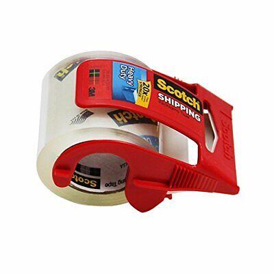 Scotch Packing Tape Dispenser Heavy Duty 2 In. W X 800 In. L 2 Mm Clear