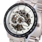 Skeleton Automatic Mechanical Mens Wrist Watches