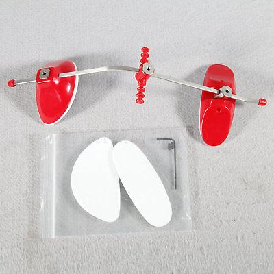 Dental Orthodontic Reverse-pull Face Mask Forward Pull Facemask Single Bars Red