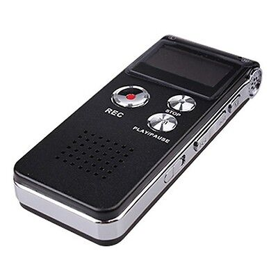 Pro 8G 650Hrs USB Digital Audio Voice Recorder Dictaphone LCD MP3 Player Spy hot