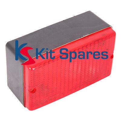 Rectangular Rear Fog Lamp Light for IVA, kit cars, sports cars - LIG0013