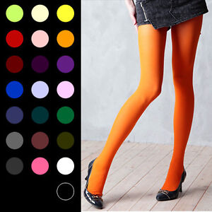 OPAQUE-PANTYHOSE-Color-Stockings-80D-Leggings-Tights