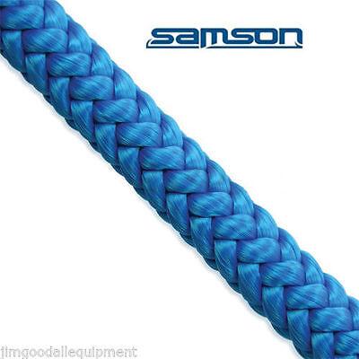 Samson True Blue Tree Climbing Rope 7300 Lb 12 Strand Rope 12 X 120