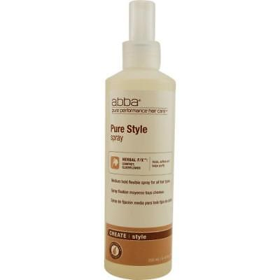 Hair Care Pure Style Spray (Abba By Abba Pure & Natural Hair Care Style Spray 8)