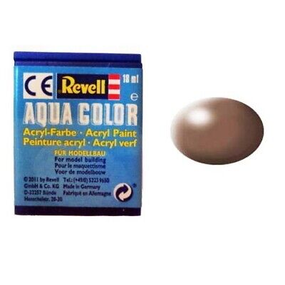 Wave Acrylic Revell Aqua Colour Acryl Paint Color Verf Peinture Brown Mat 36381