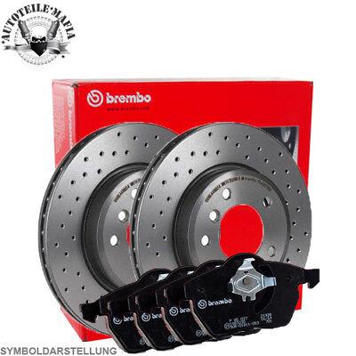 Satz für vorne 2x Brembo XTRA Bremsscheiben  Audi A5 //A5 Sportback und Q5