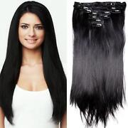 Clip in Synthetic Hair Extensions Full Head
