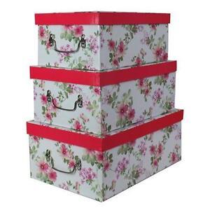 Decorative boxes storage organisers ebay - Decorative storage boxes ...