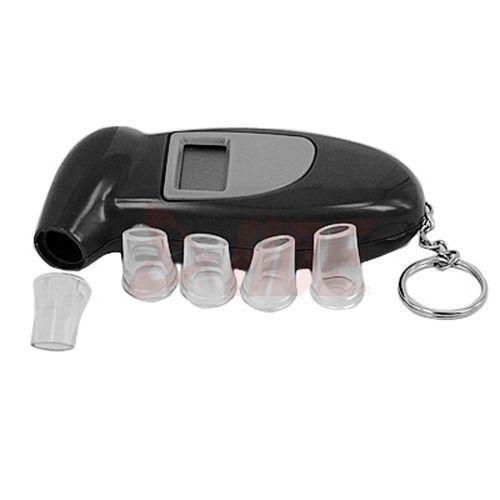 Digital Breathalyzer Alcohol Tester LCD Analyzer Police BAC Detector Alert