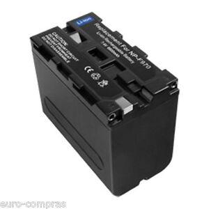 Batteria-NP-730-Sony-6600mAh-HDR-AX2000-AX2000E-CCD-TR1-TR200-TR215-TR3