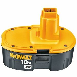 DeWalt 18V XRP Batteries