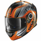 Shark Orange Full Face Helmets