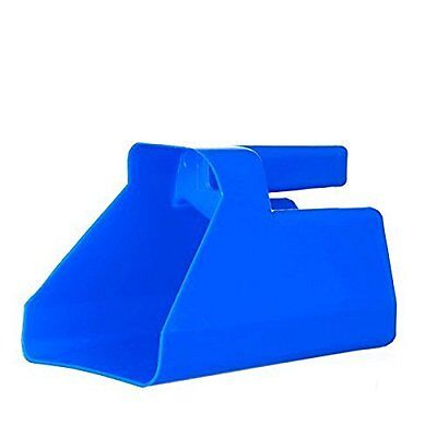 Tolco Heavy-Duty Plastic Scoop, 3 quart, Blue