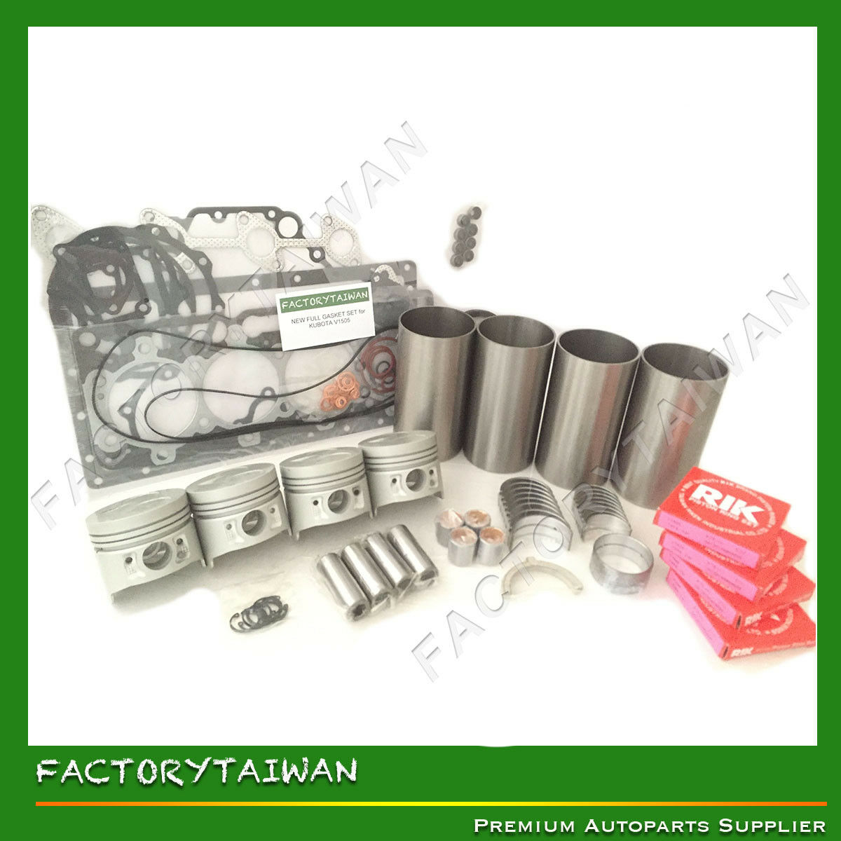 Details about Engine Overhaul Kit STD for KUBOTA V1505 - B2910HSD B3200HSD  B3300SU F3680 KX71H