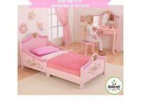 Kidkraft Girls Princess Toddler Bed