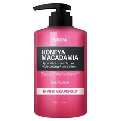 KUNDAL Honey&Macadamia Pure Body Lotion Pink Grapefruit 500ml Moisture K beauty