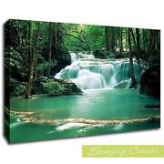 Canvas Wall Art Waterfall
