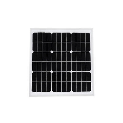 Solarnara Mono Solar Panel 20W 20Watts For 12 Volt Battery Charning