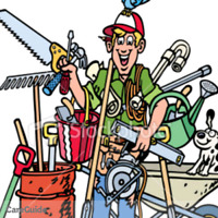 Handyman for hire/ lawncare and maintence Guy for hire