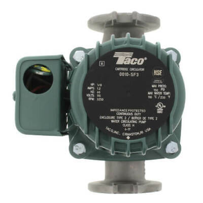New Taco 0010-sf3-ifc Stainless S Circulator Pump W Integral Flow Check 18 Hp