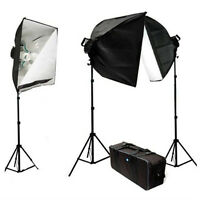 4500W Photo Studio Softbox Video Light Kit Case, VL-9026S-3-85W