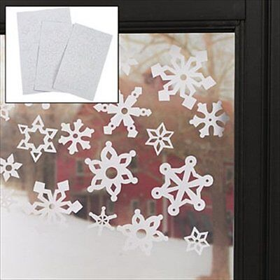 69-pack Christmas Winter Snowflake Window Clings (4/942)