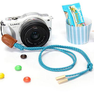 CIESTA Schulter Hals Kamera Gurt Vivid (Blau) for D-SLR Mirrorless Toy Instax RF