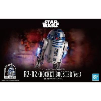 BANDAI Star Wars R2-D2 (R2D2) Rocket Booster Ver. 1/12 scale kit USA SELLER