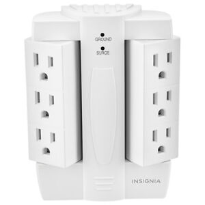 Insignia 6-Outlet Surge Protector (NS-PWS5608-C)