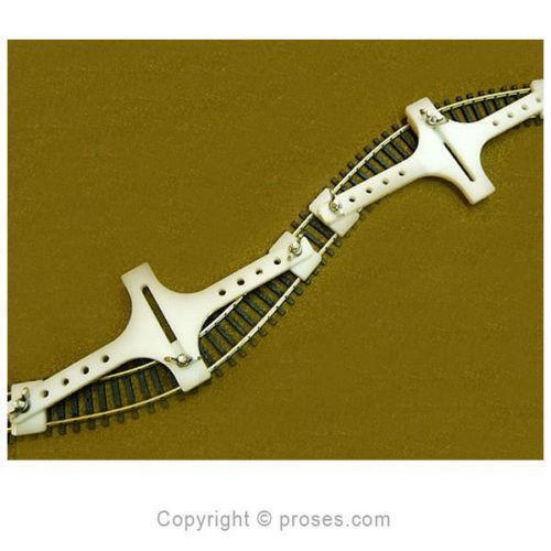 N gauge flexible track holder