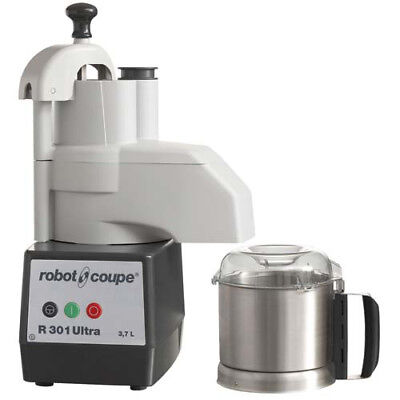 Commercial Standard Food Processor - 3-12 Qt. Stainless Steel Bowl