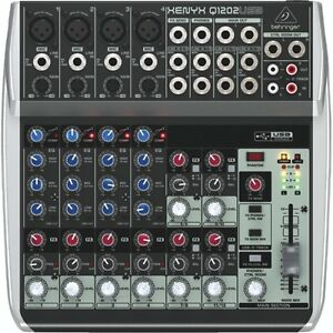 Behringer Q1202USB Xenyx 12-input, 2-bus Mixer-NEW IN BOX