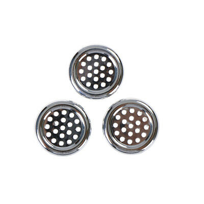 3PCS Round Ring Overflow Cover Plug Sink Filter Bathroom Basin Sink Drain JB
