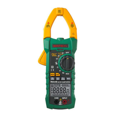 Mastech Ms2115b True Rms Digital Clamp Meter Multimeter Hz Tester