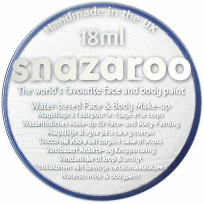 White Snazaroo High Quality Non-Toxic Party Face Paint for Festivals & Fairs](Face Paintings For Halloween Costumes)