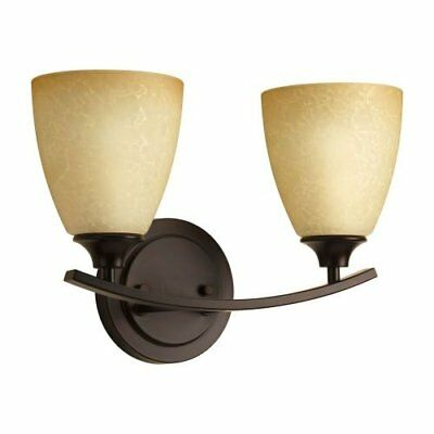 Miseno MLIT-8230-BH2 Two Light Vanity Light, Antique Bronze