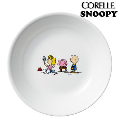 [SNOOPY PEANUTS x CORELLE]  deep round plate dish 216 mm X 31 mm / The home