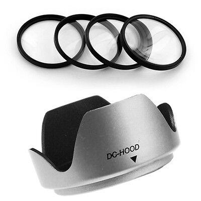 Mennon 55mm Lens Hood,macro Filter Kit For Kodak Easyshar...