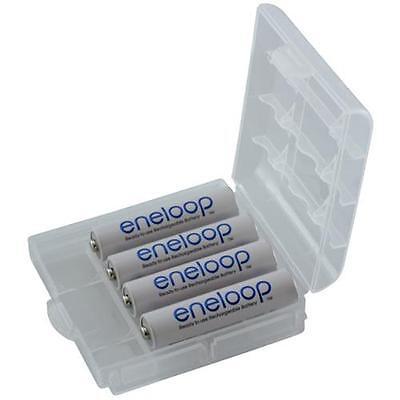 4x ENELOOP Micro BK-4MCCE Akku Typ AAA, R3 Akkus bis zu 2100 Ladezyklen 800mAh
